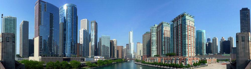 Gateway to Chicago, Streeterville Chicago.