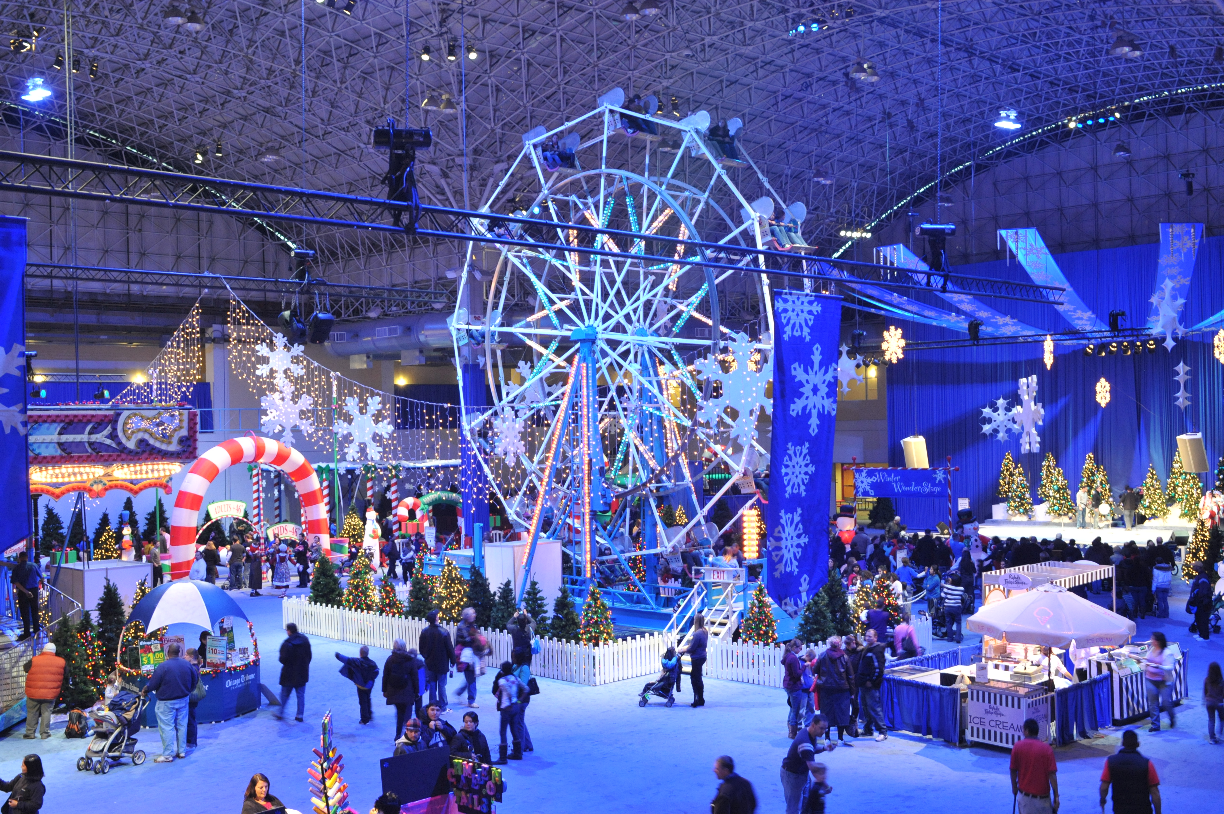 downtown chicago winter fest