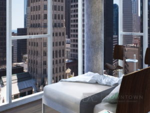Linea luxury apartments downtown chicago near the Loop