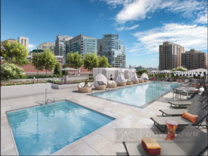 The Hudson luxury apartments downtown chicago near river north2113