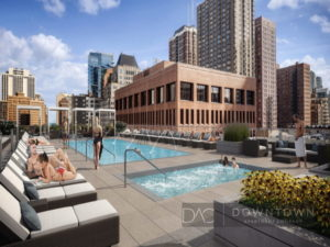 The Sinclair luxury apartments downtown chicago near Gold Coast2100