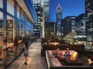 Streeterville Optima Signature luxury apartments downtown Chicago