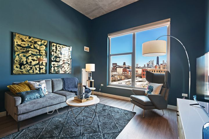 River West Luxury 1 Bedroom Apartments For Rent In Downtown Chicago