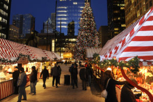 Christkindlmarket the loop chicago winter festivities near downtown market