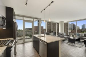 Looking for luxury apartments for rent near 1407 s Michigan? Convertible apartment living area