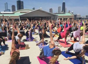 Yoga near me this weekend in downtown Chicago