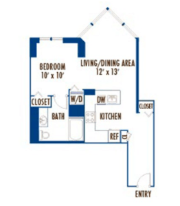 #1 Looking for luxury 1 bedroom apartments?