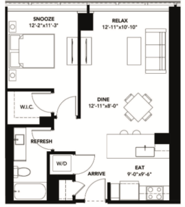 #135 Looking for luxury 1 bedroom apartments?