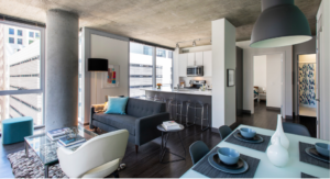 Now leasing! Looking for luxury 2 bedroom apartments in the Loop available now?