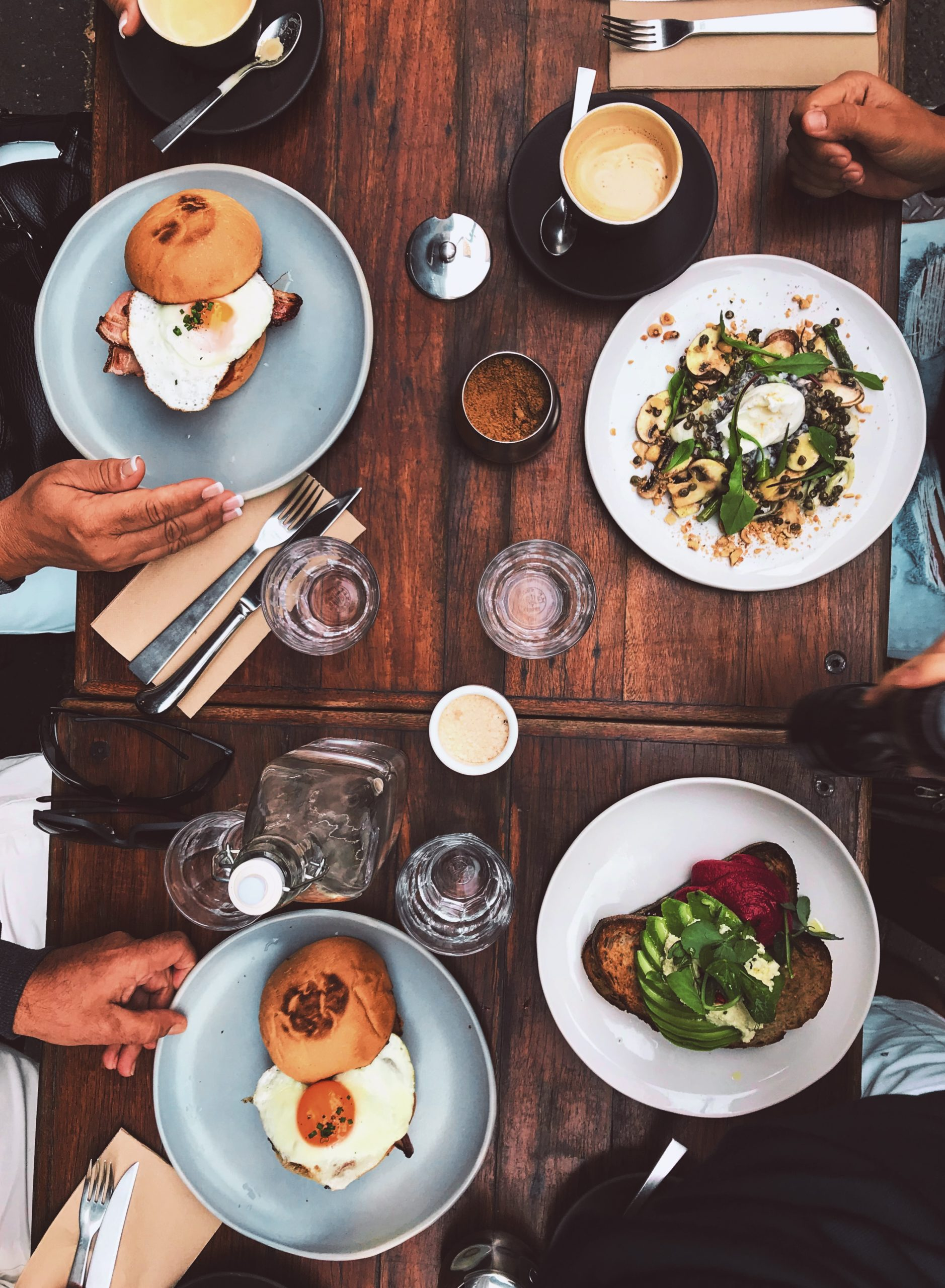 Looking for places to eat breakfast in the south loop